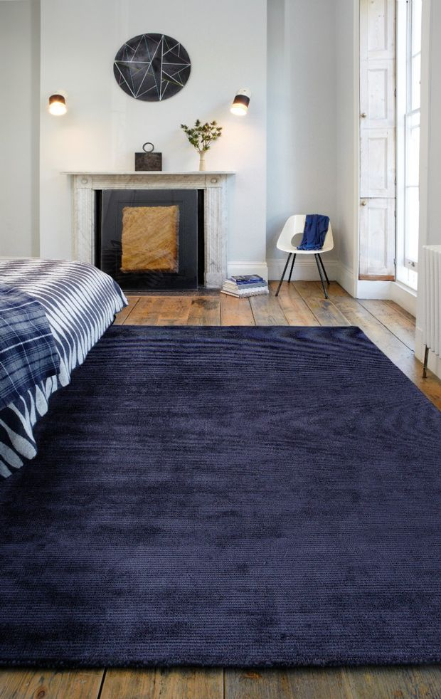 Reko Navy Rugs Buy Navy Rugs Online From Rugs Direct