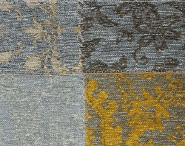 Buy Louis De Poortere Vintage 8084 Yellow Beige Rugs