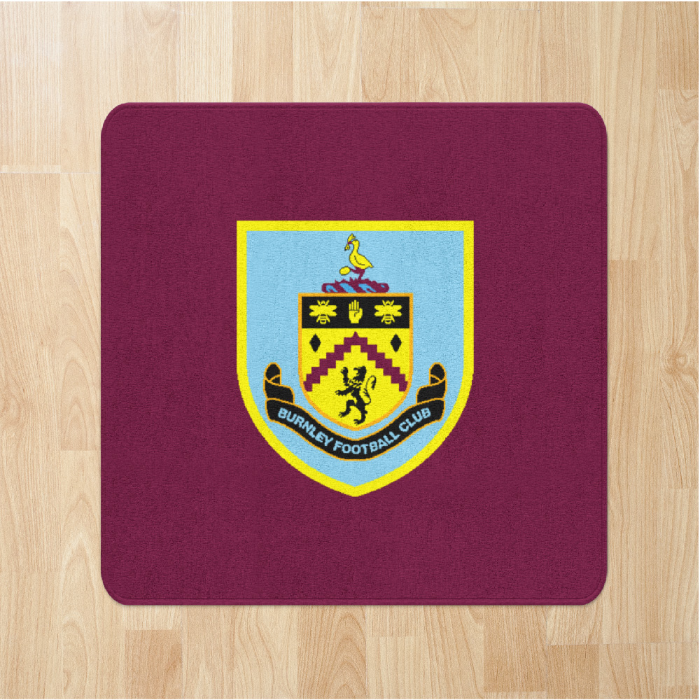Football Crests Burnley Rugs