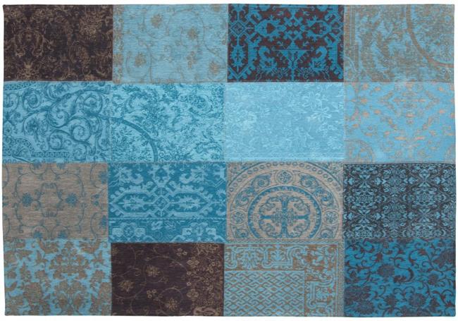 Buy Louis De Poortere Vintage 8105 Turquoise Rugs Buy