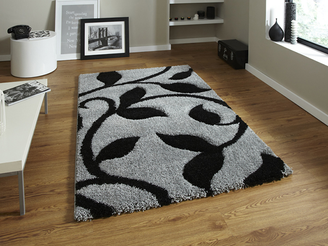 Fashion Carving 7647 Grey Black Rugs Buy 7647 Grey Black