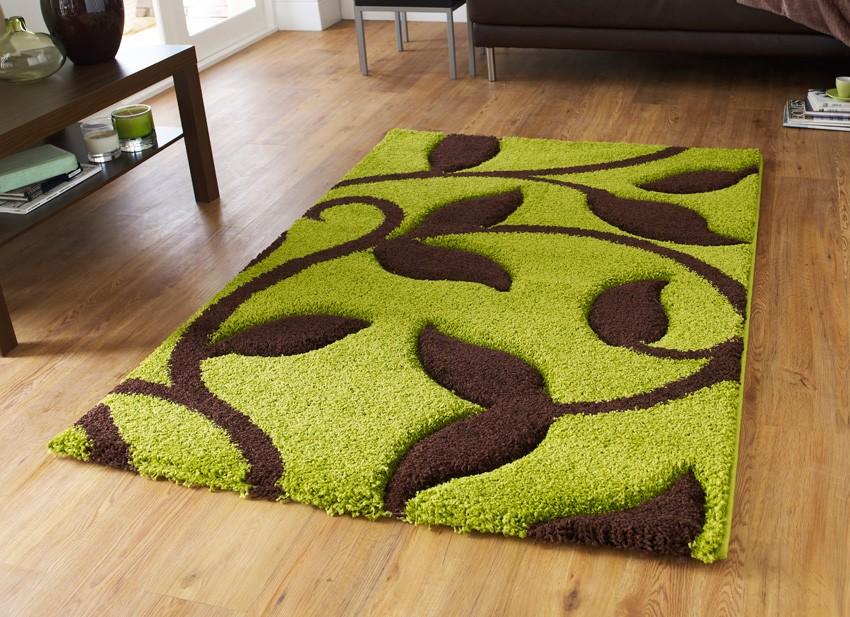 фото зеленые ковры