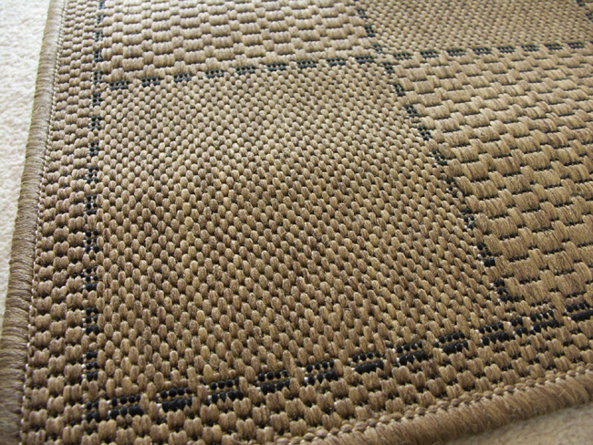 Checked Flatweave Natural Rugs - Buy Natural Rugs Online from Rugs Direct