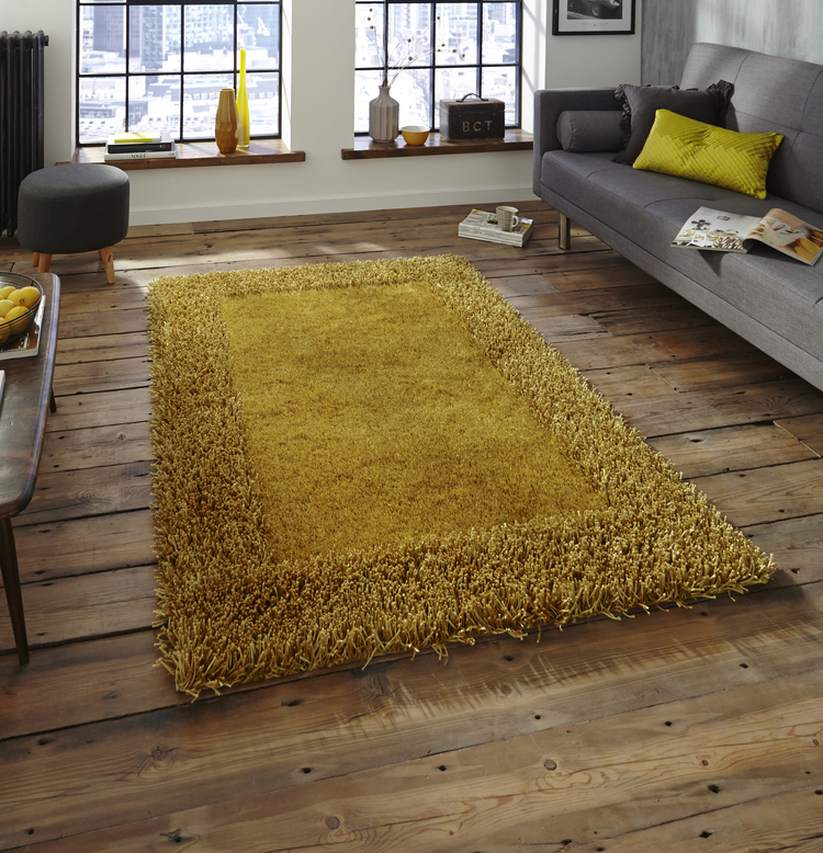 Sable 2 Yellow Rugs Buy Yellow Rugs Online From Rugs Direct
