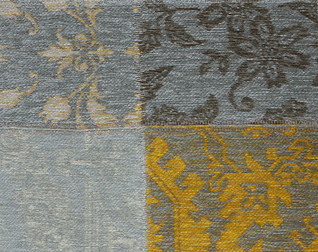Buy Louis De Poortere Vintage 8084 Yellow Beige Rugs